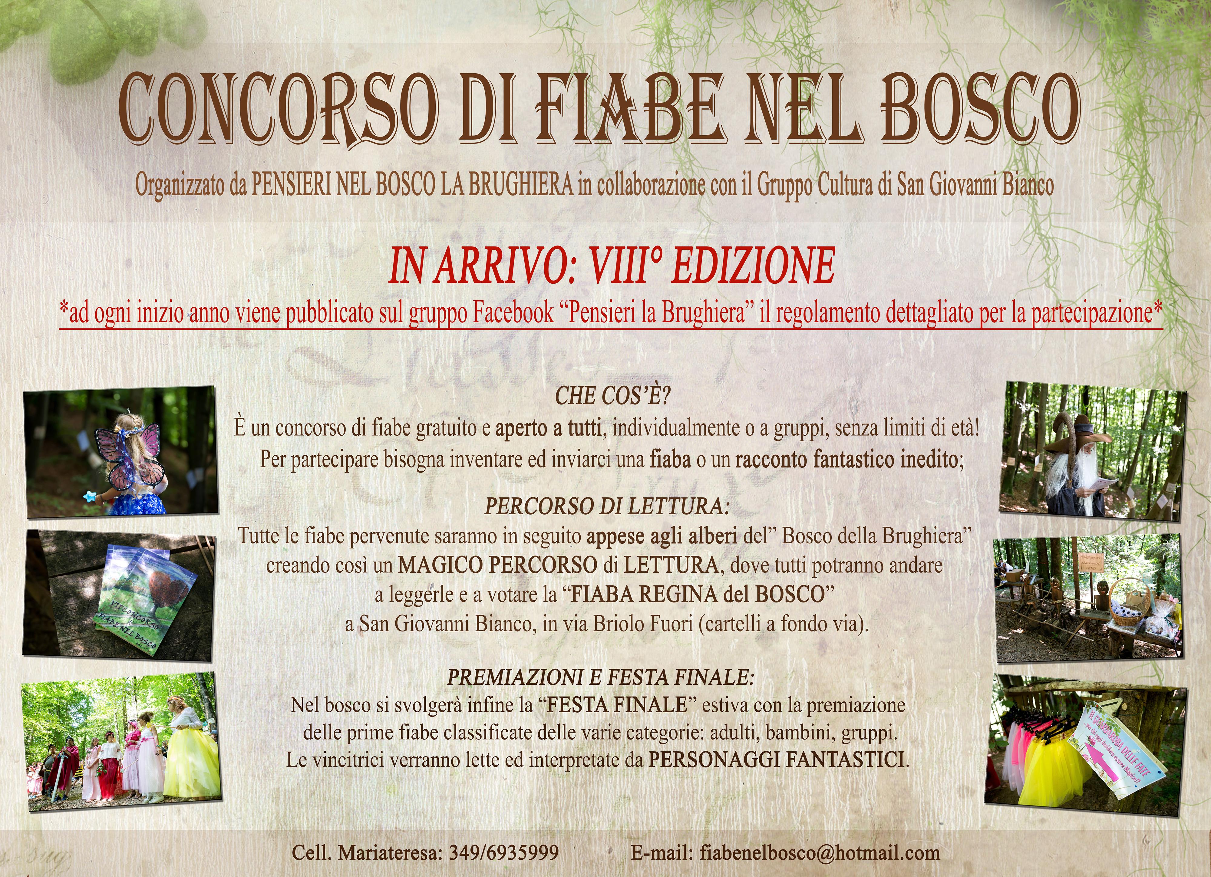 VOLANTINO GENERICO CONCORSO FIABE 2