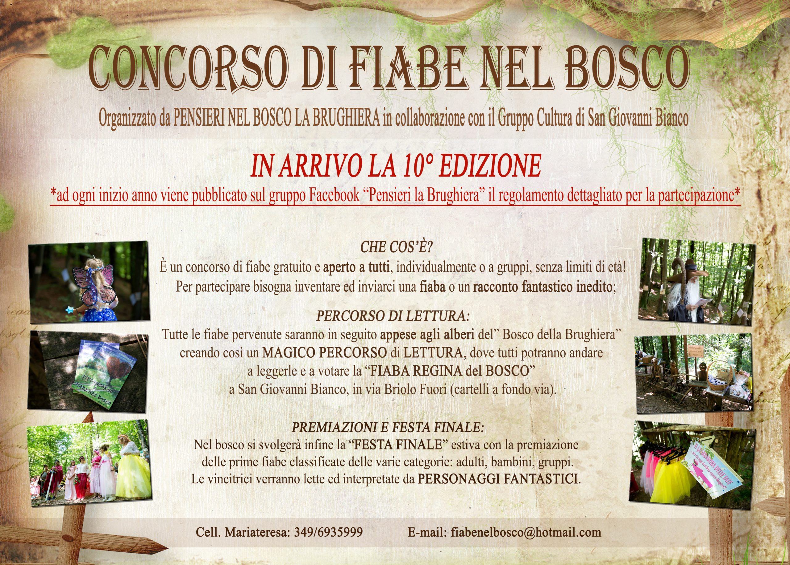 VOLANTINO GENERICO CONCORSO FIABEc